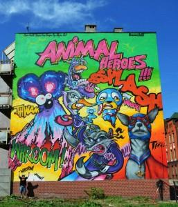 Murale w Polsce